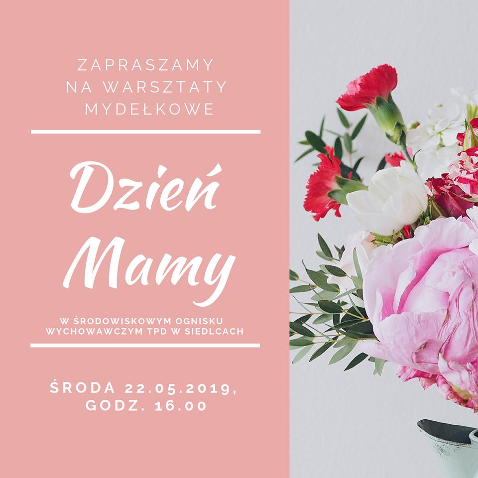 Zaproszenie na Dzień Mamy